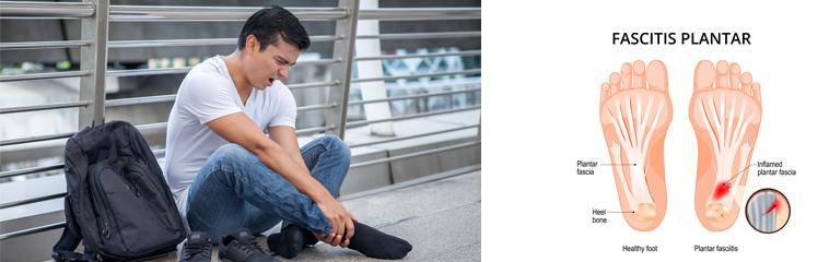 Padezco de fascitis plantar, ¿tiene solución? <div id='b'> <span class='sb'><br><strong>Jon Marti Ayerdi</strong>. FEA Cirugía Ortopédica y Traumatología. Complejo Hospitalario de Navarra.<strong> Carlos Sanz García</strong>. MIR Cirugía Ortopédica y Traumatología. Complejo Hospitalario de Navarra</span></b>
