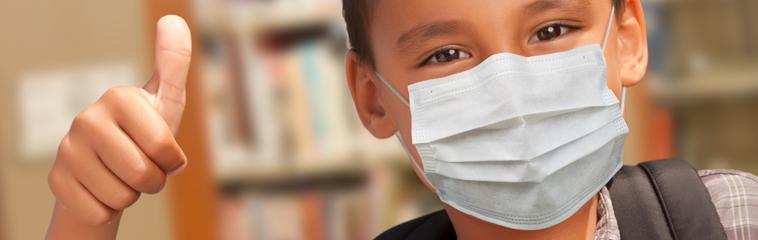 El uso de las mascarillas en niños durante la pandemia COVID-19 <div id='b'> <span class='sb'><br><strong>Asociación Española de Pediatría</strong></span></b>